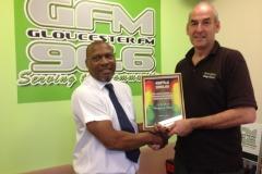 Martin Seccombe visits GFM