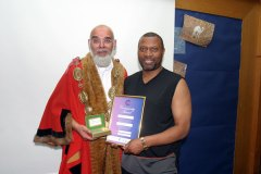 Volunteering and Community Award 2007