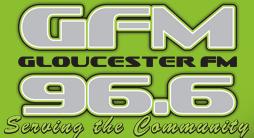 GFM 96.6 logo Gloucester FM Radio