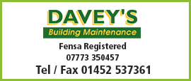daveys building maintenance-advert