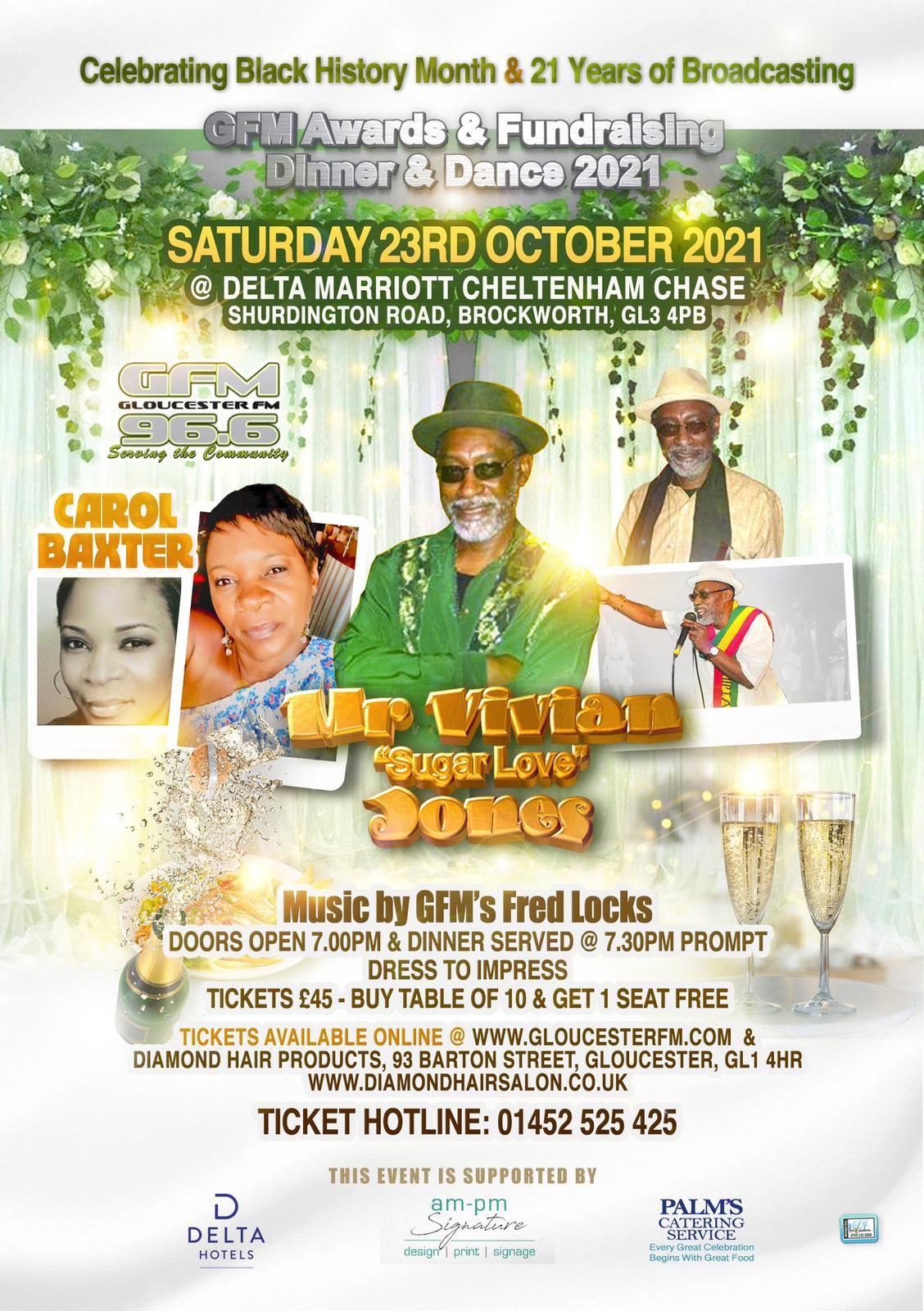 GFM Awards & Fundraising Dinner & Dance 2021